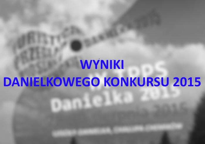 Werdykt Jury Danielkowego Konkursu 2015