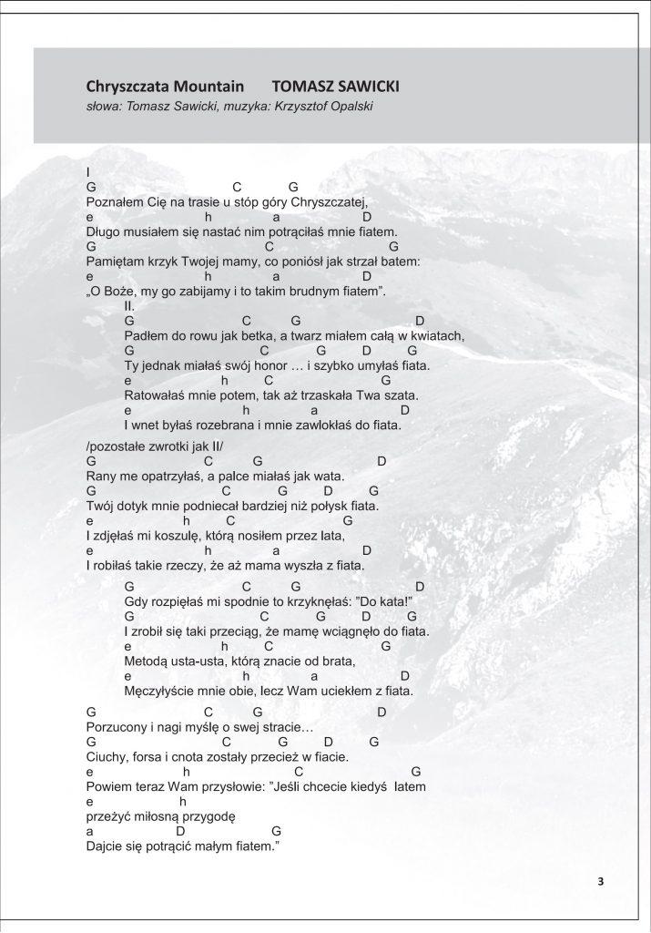 Chryszczata Mountain