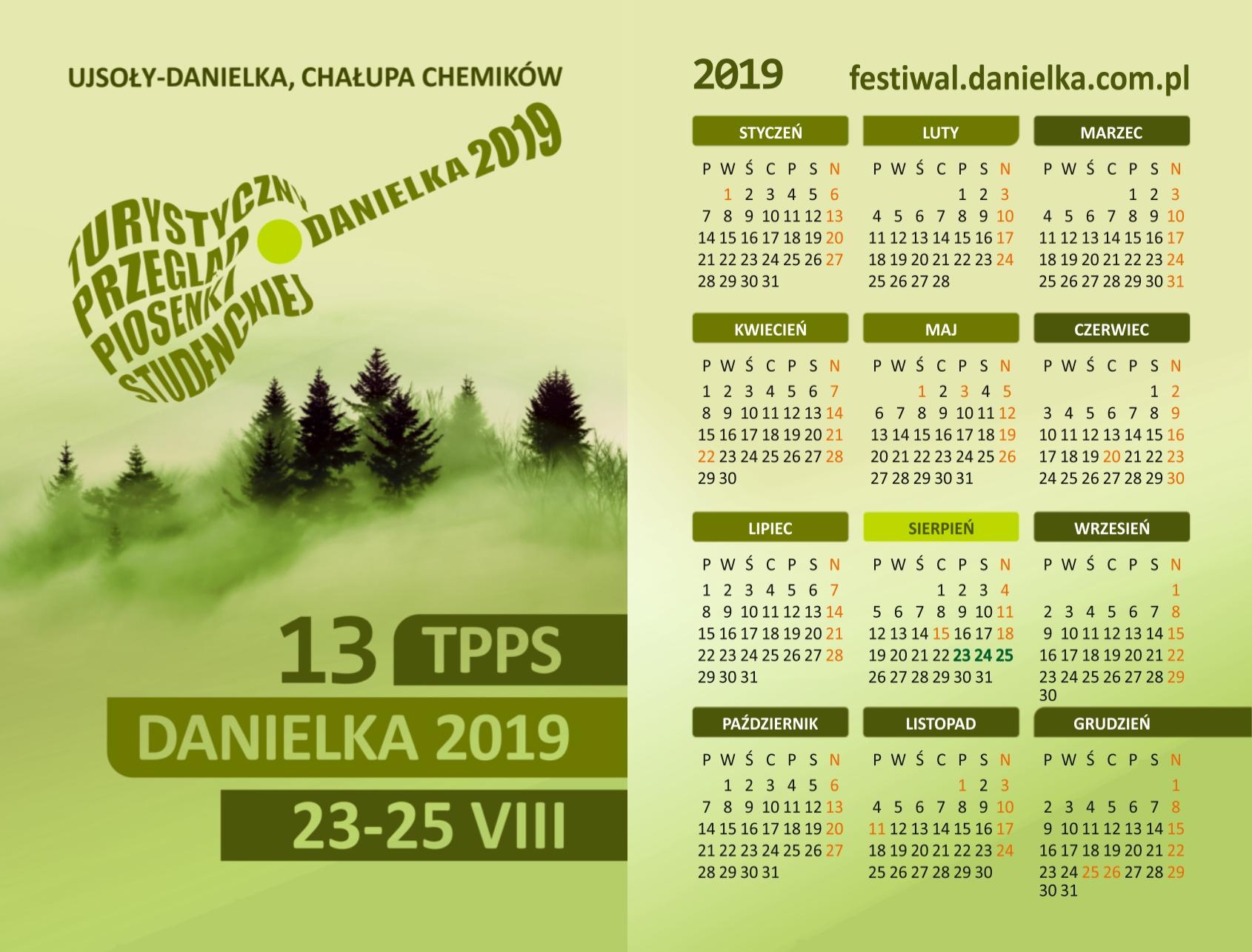 Danielkowe Kalendarzyki 2019 idą w świat