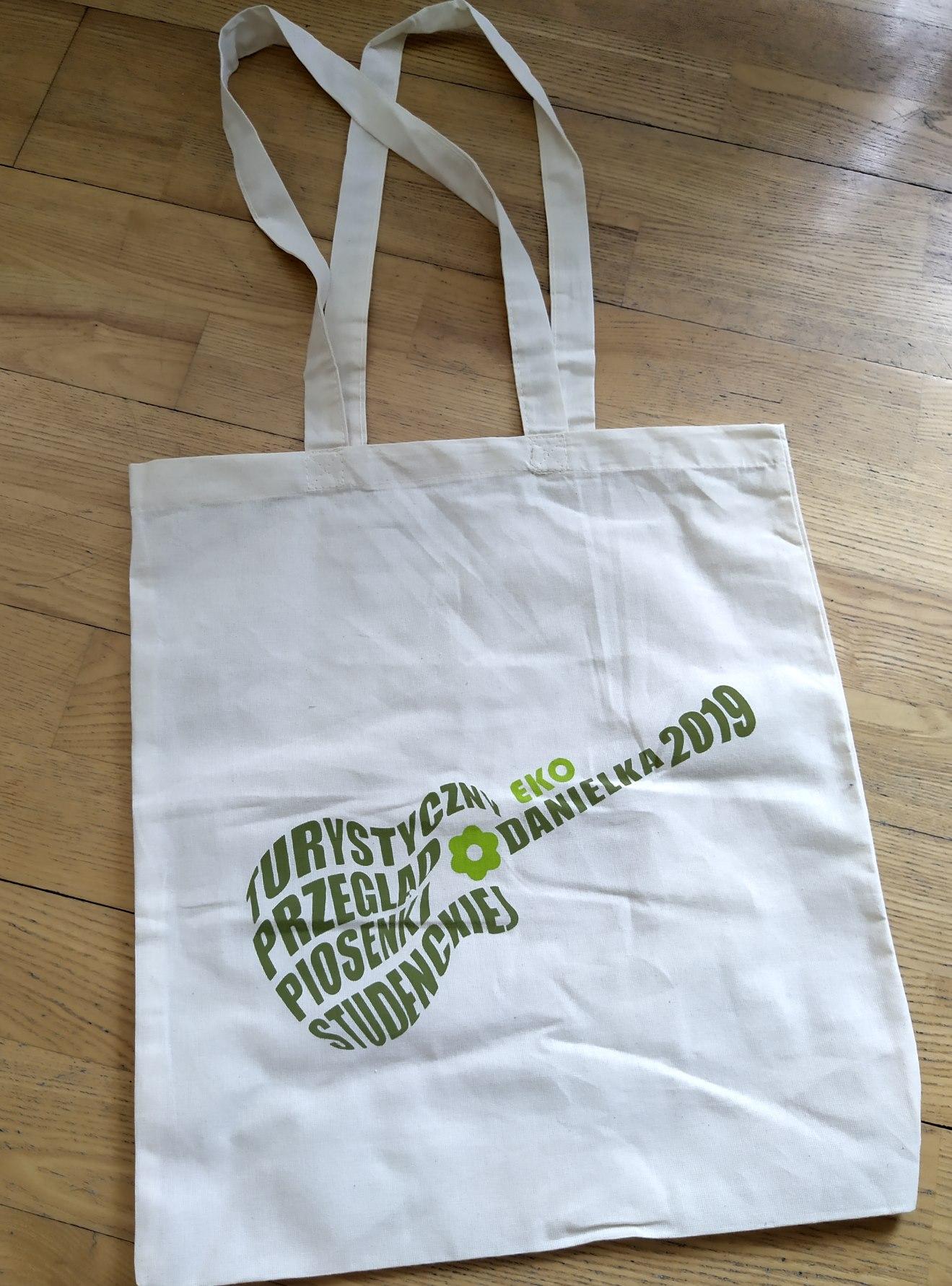 Danielkowa torba ekologiczna